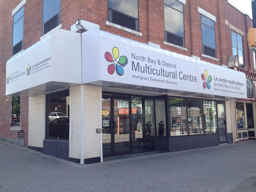 Front entrance of the North Bay & District Multicultural Centre